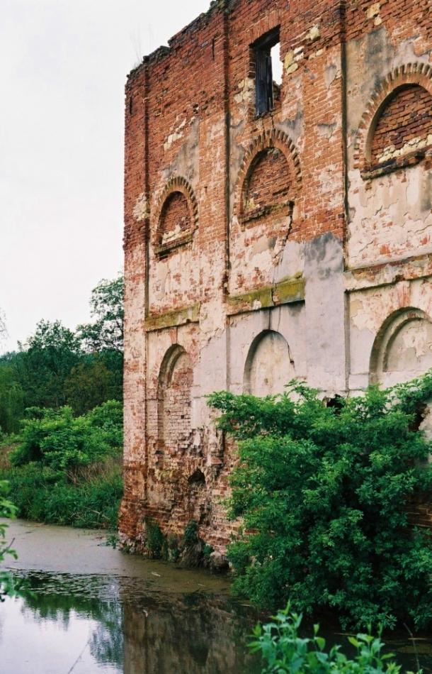 Papiernia w Celejowie - ruiny