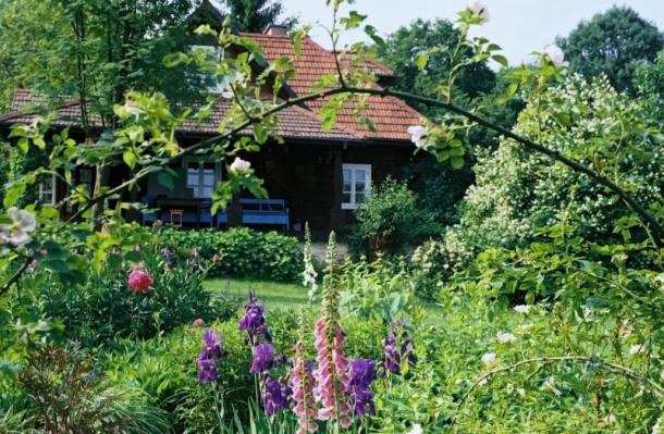 domek i ogród