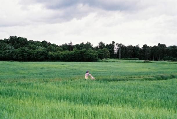 Józia na polu